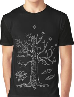 The White Tree of Gondor Graphic T-Shirt