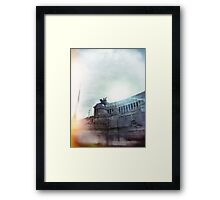 architecture in Rome Framed Print