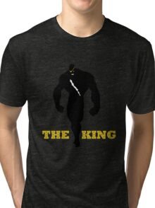 The King of Muay Thai Tri-blend T-Shirt