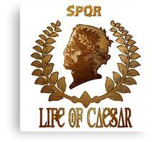 Caesar Insignia Canvas Print