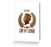 Caesar Insignia Greeting Card