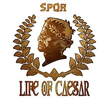Caesar Insignia Photographic Print