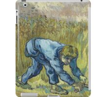 Vincent Van Gogh -  Reaper (After Millet) 1888 iPad Case/Skin
