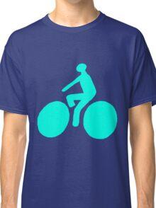Turquoise bike Classic T-Shirt