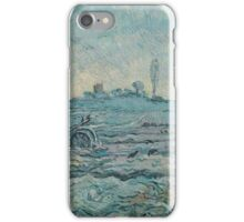 Vincent Van Gogh -  Plough And  Harrow (After Millet), 1890 iPhone Case/Skin
