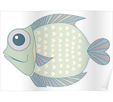 A Cool Fish Poster