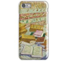 Vincent Van Gogh -  Parisian Novels iPhone Case/Skin