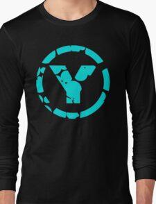 prYda lightblue Long Sleeve T-Shirt