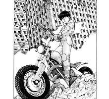 Akira Kaneda Biker by carmelovarela