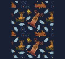 Twilight Town Pattern (Digital) Kids Tee