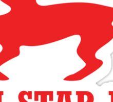 Star Fox Emblem Red Sticker