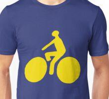 Yellow bike Unisex T-Shirt