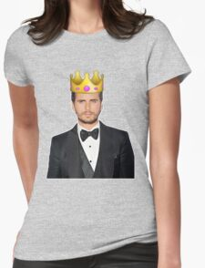 Lord Disick | Crown Emoji Womens Fitted T-Shirt