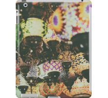 Beautiful Colored Arabian Lamps In Oriental Grand Bazaar Of Istanbul iPad Case/Skin