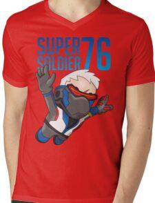 Super Soldier 76 Mens V-Neck T-Shirt