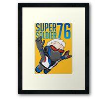 Super Soldier 76 Framed Print