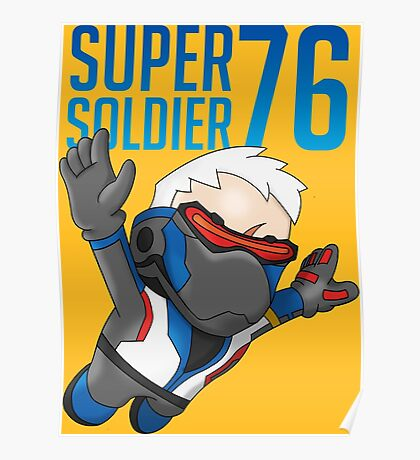 Super Soldier 76 Poster
