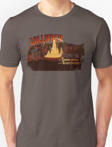 Visit Timeless Gallifrey (Worn) T-Shirt
