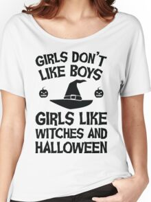 Girls like Halloween Women's Relaxed Fit T-Shirt