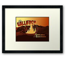Visit Timeless Gallifrey (New) Framed Print