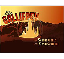 Visit Timeless Gallifrey (New) Photographic Print