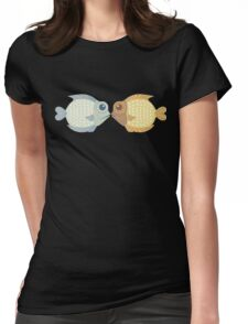 Two Fish Womens Fitted T-Shirt