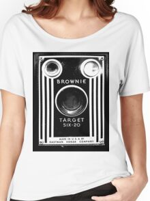 Vintage Kodak Brownie Camera Women's Relaxed Fit T-Shirt