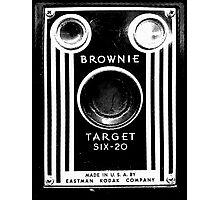 Vintage Kodak Brownie Camera Photographic Print