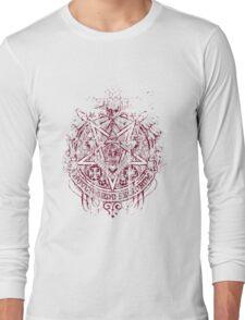 Satanic Masonic 2 (Grunge) Long Sleeve T-Shirt