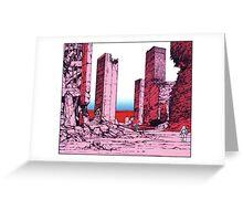 Katsuhiro Otomo Destruction Greeting Card