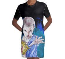Eleven Graphic T-Shirt Dress