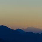 Smoke & Mountains by Jean Poulton