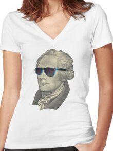 Alexander Swagilton Women's Fitted V-Neck T-Shirt