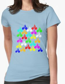 Bikes! Womens Fitted T-Shirt