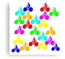 Bikes! Canvas Print