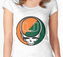 The Dead in Miami Women's Fitted Scoop T-Shirt