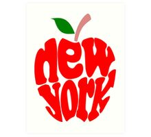 Big Apple New York Art Print