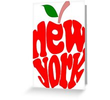 Big Apple New York Greeting Card