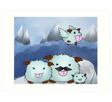 League of Legends - Poro Family Art Print