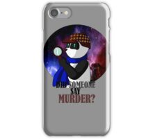 Panda Sherlock iPhone Case/Skin
