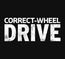 Correct-Wheel Drive Kids Tee