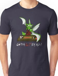 Gotta cut'em all! Unisex T-Shirt