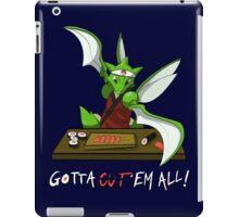 Gotta cut'em all! iPad Case/Skin