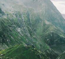Mountains of Switzerland Sticker