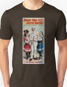 Performing Arts Posters Have you seen Smith a famous fabric of fun 1437 Unisex T-Shirt
