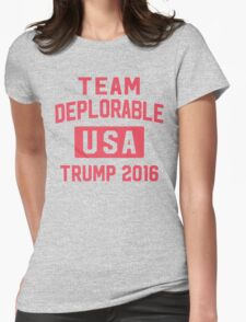 Team Deplorable Womens Fitted T-Shirt