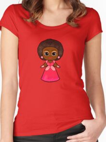 Pretty Princess  Women's Fitted Scoop T-Shirt