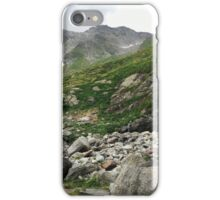 Hiking The Alps iPhone Case/Skin