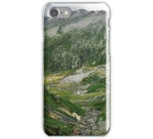 Mountains of Switzerland - Rocky Green Alpine Landscape in Ticino Switzerland iPhone Case/Skin