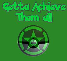 Achievement Hunter - Gotta achieve them all - Pokemon by Joefishjones .